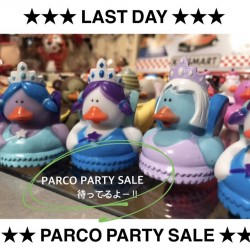 ★★PARCO PARTY SALE ★★ 本日まで!!